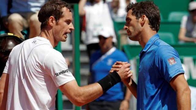 Albert Ramos Andy Murray Masters Montecarlo