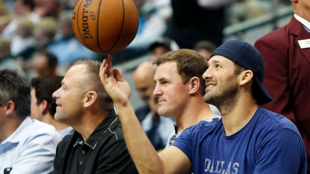Tony Romo Dallas Mavericks