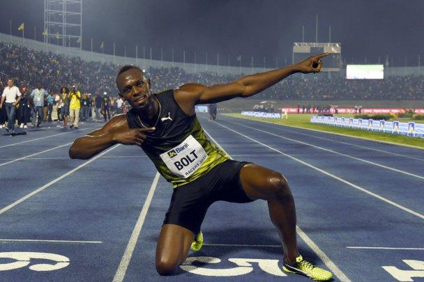 Usain Bolt Jamaica Carrera Despedida