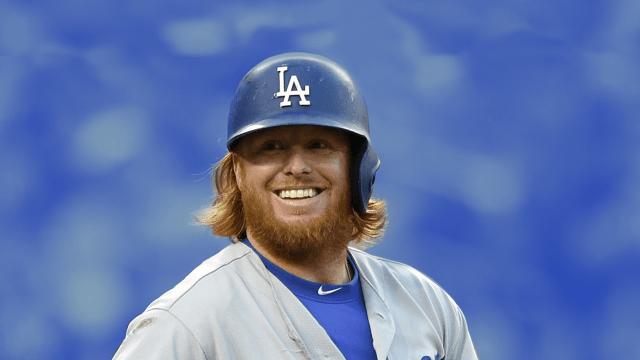 Justin Turner Dodgers Campeón Arma Bateo