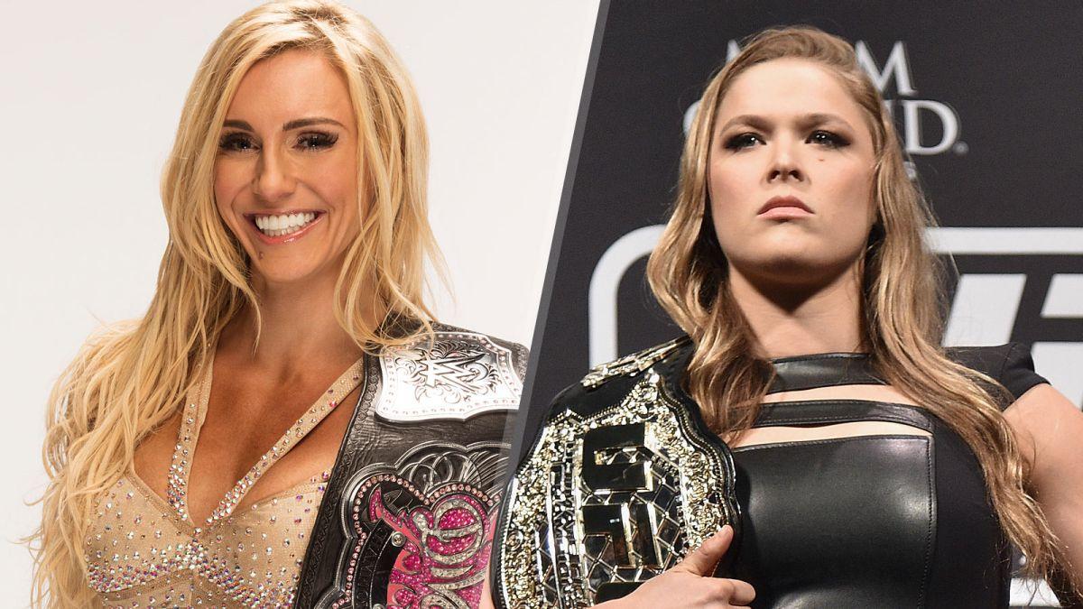 Ronda Rousey, WWE, Divas, Pelea, Mae Young Classic, Ric Flair, Bayley, Sasha Banks, Lucha Libre, Baszler, discusión, UFC
