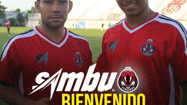 Sambueza nueva playera Pioneros Cancún presentación