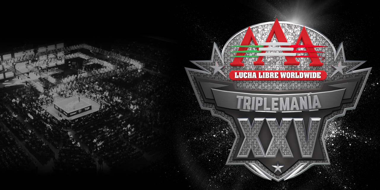 AAA Triplemanía 25 cartelera Dr Wagner cartel