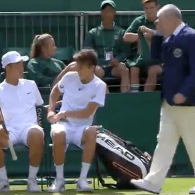 Wimbledon, expulsan jugadores, ropa interior, negro, ropa interior, reglamento, All England Club, ropa blanca, Tenis