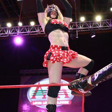 Sexy Star, AAA, Reina de Reinas, cinturón, vuelve, lucha libre, Dulce García, Netflix, Lucha Underground, Boxeo, Regreso, campeona