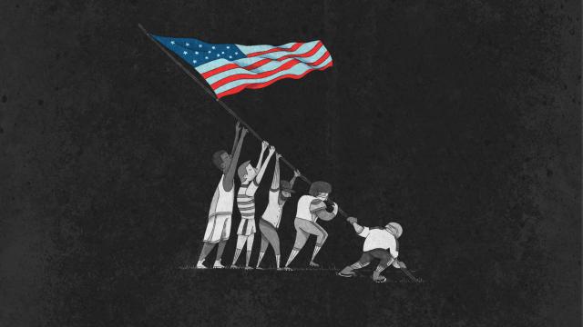 Estados Unidos, independencia, cuatro, julio, beisbol,futbol, americano, basquetbol hockey