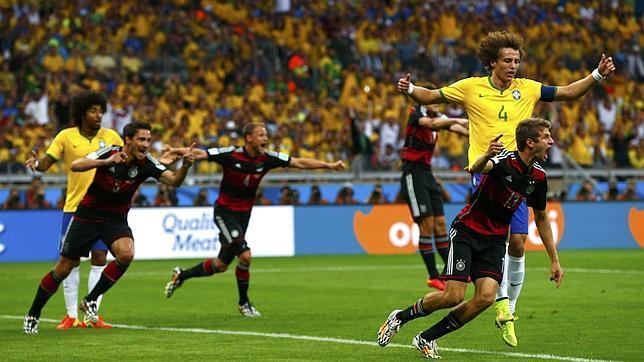 Alemania Brasil Mundial 7-1 trolleo recuerdo