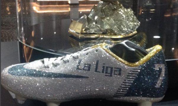 Cristiano Ronaldo Botines Calzado Diamantes Lujo Millones