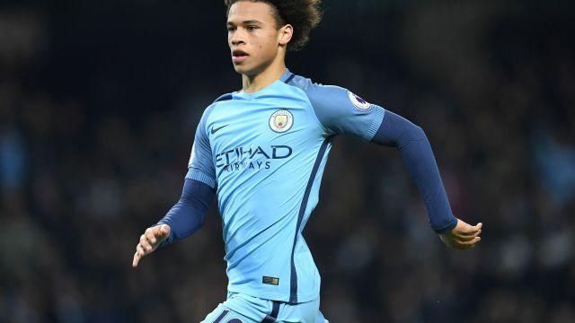 Leroy Sané Tatuaje Manchester City espalda