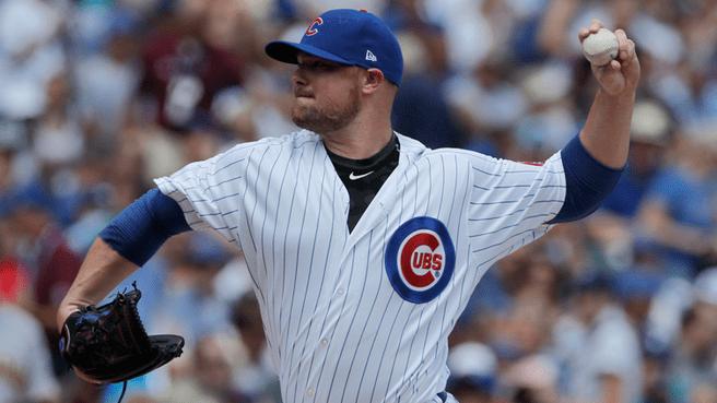 Jon Lester Cubs salida 10 carreras primera entrada Pirates
