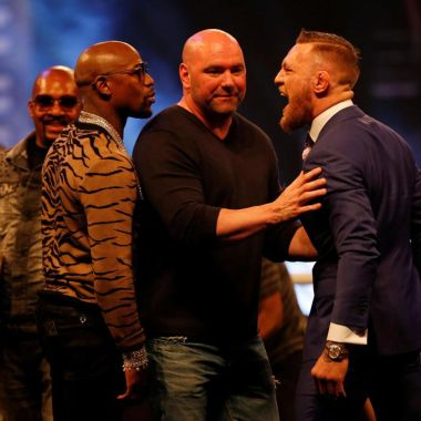 Dana White McGregor Mayweather boletos