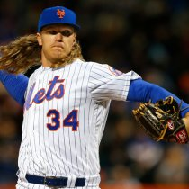Noah Syndergaard Game of Thrones Pitcher New York Mets
