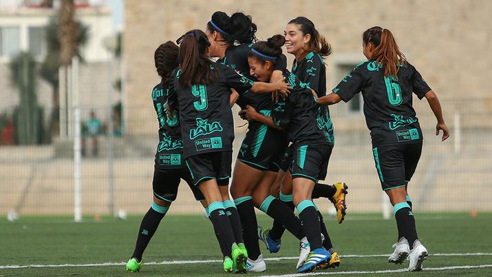 Liga MX Femenil Santos Guerreras Estadio Corona