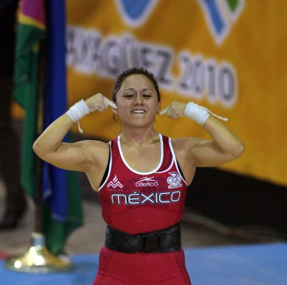 Carolina Valencia halterista excluida selección nacional
