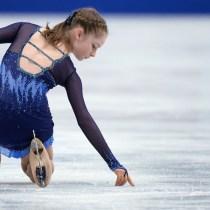 Patinadora rusa retiro anorexia Sochi Yulia Lipnitskaya Rusia