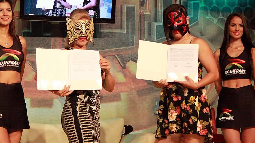 CMLL 84 aniversario función máscaras