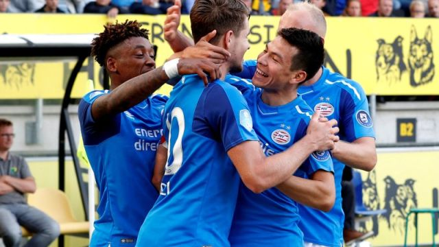 Hirving Lozano Chucky PSV gol asistencia
