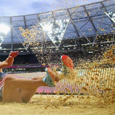 Ivana Spanovic Mundial de Atletismo Londres Salto de Longitud