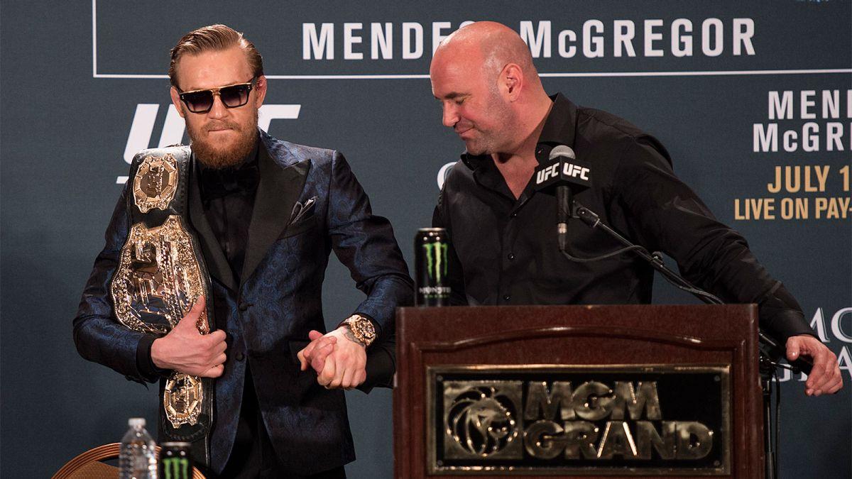 Conor McGregor UFC dueño Mayweather Dana White socio