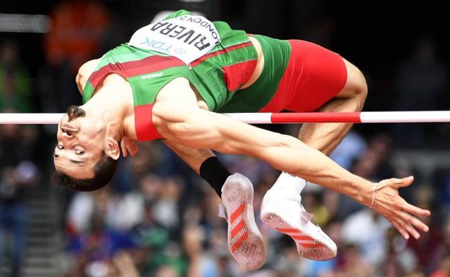 Edgar Rivera Salto Altura Mundial Atletismo Londres