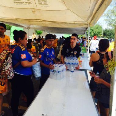 Javier Aquino, André Pierre Gignac, sismo, Oaxaca, Chiapas, sismo en México, Tigres, colecta de víveres