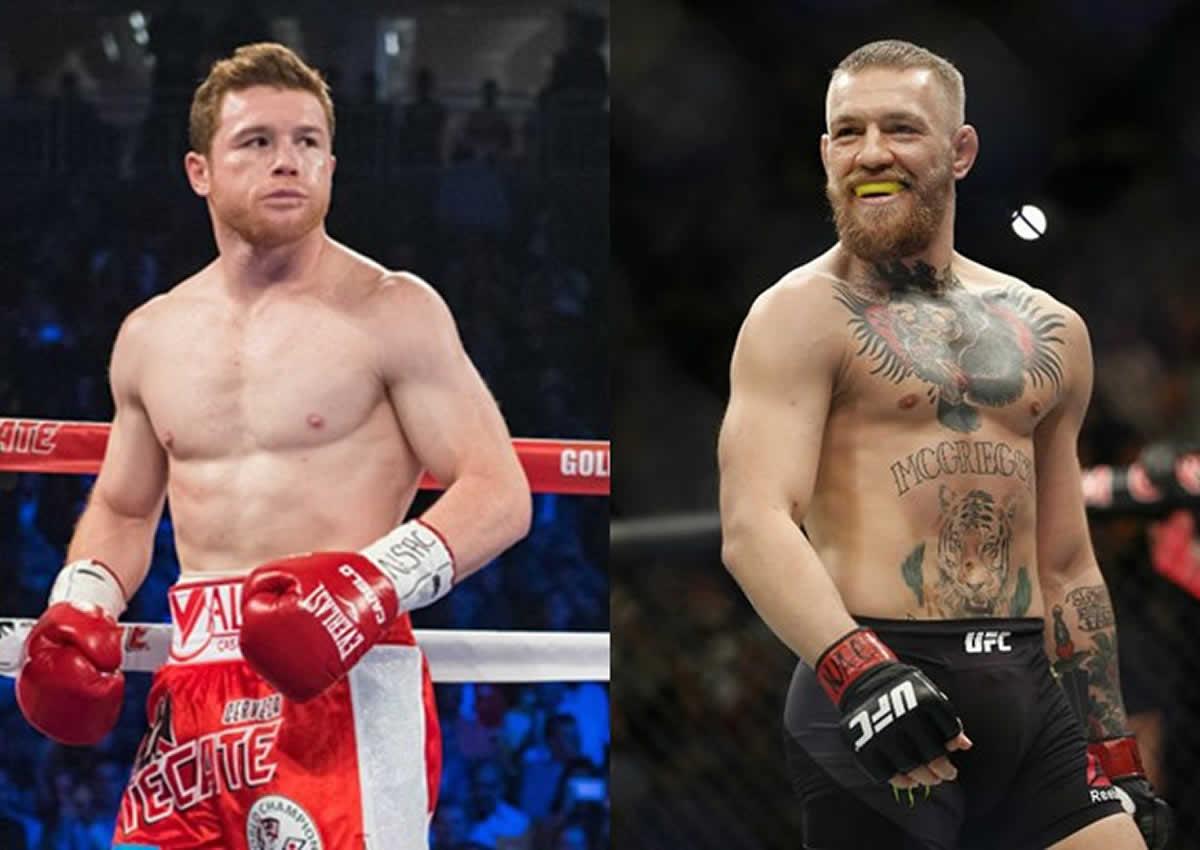 McGregor pelea mayo Canelo Álvarez Mayweather