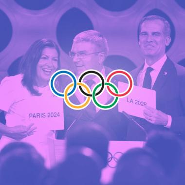 París 2024 Los Angeles 2028 Juegos Olímpicos Comité Olímpico Internacional