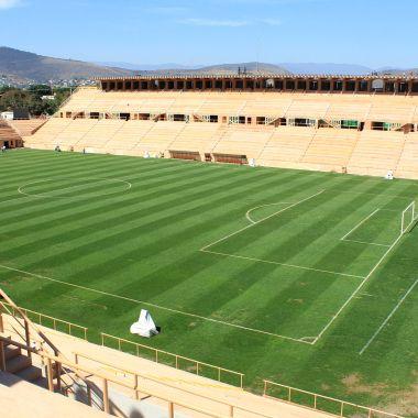 Estadio ITO, Oaxaca, Chapulineros, sismo, futbol, Protección Civil, temblor, resguardo