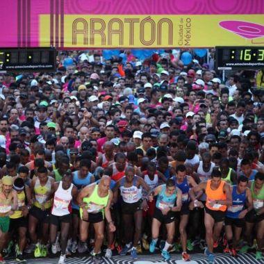 Maratón, Ciudad de México, participantes descalificados, tramposos maratón, 42 kilómetros, INDEPORTE, carrera, running, atletismo
