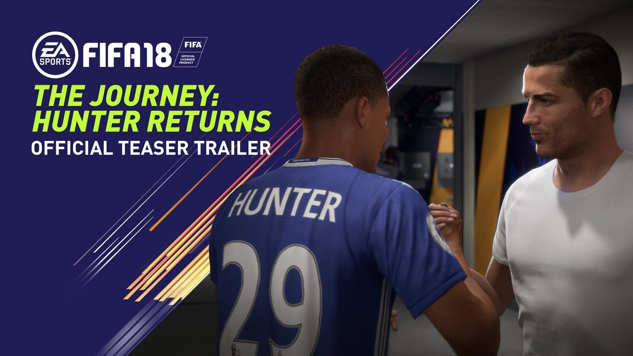 FIFA 18 Alex Hunter video recargado trailer EA Sports