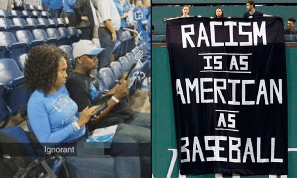 Racismo Estadios Estados Unidos Boston Lions Detroit Red Sox