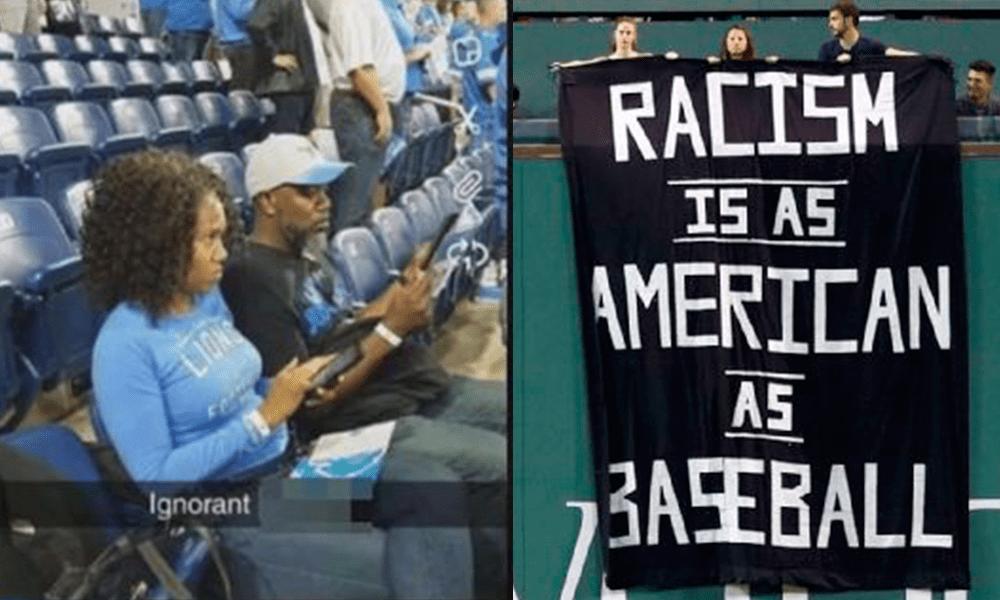 Racismo Estadios Estados Unidos Boston Lions Detroit Red Sox