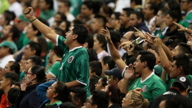 FMF grito Fuerza México selección mexicana Trinidad y Tobago Eh Puto