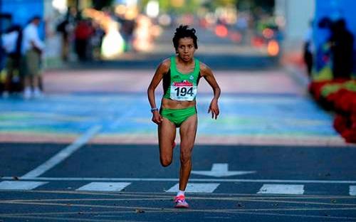 Madaí Pérez Maratón Chicago Cuarto lugar