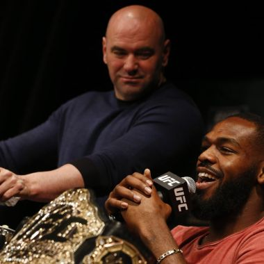 Jon Jones Dana White desperdicio UFC dopaje
