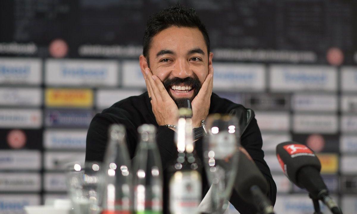 Marco Fabián, Barba, rasurará, al regresar, cancha, recuperar, lesión, Eintrach Frankfurt, Bundesliga