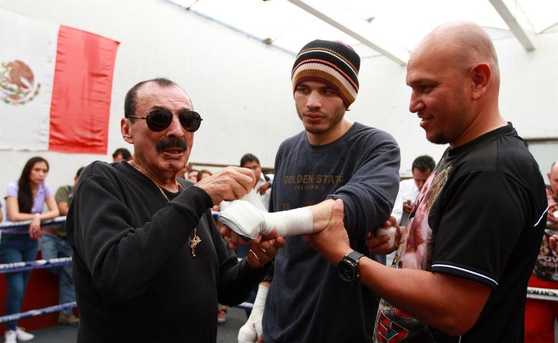 Chávez Jr Beristáin desaparecido pelea pelea de Chávez