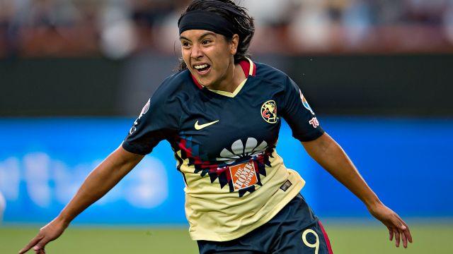 Liga MX Femenil, Lucero Cuevas, Selección Nacional, Goleadora, sub-17, Julieta Peralta, Jaidy Gutiérrez, Ximena Ríos, América