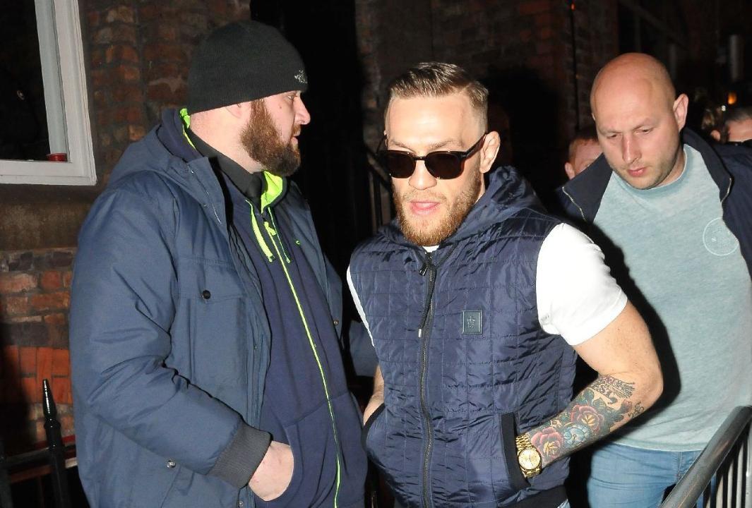 "McGregor Dublin Bar pelea mafioso Graham ""The Wig"" Whelan Crumlin"