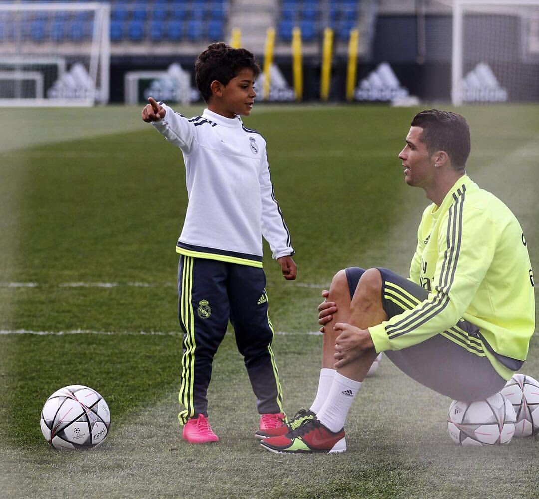 Cristiano Jr Cristiano Ronaldo video golazo redes sociales Real Madrid