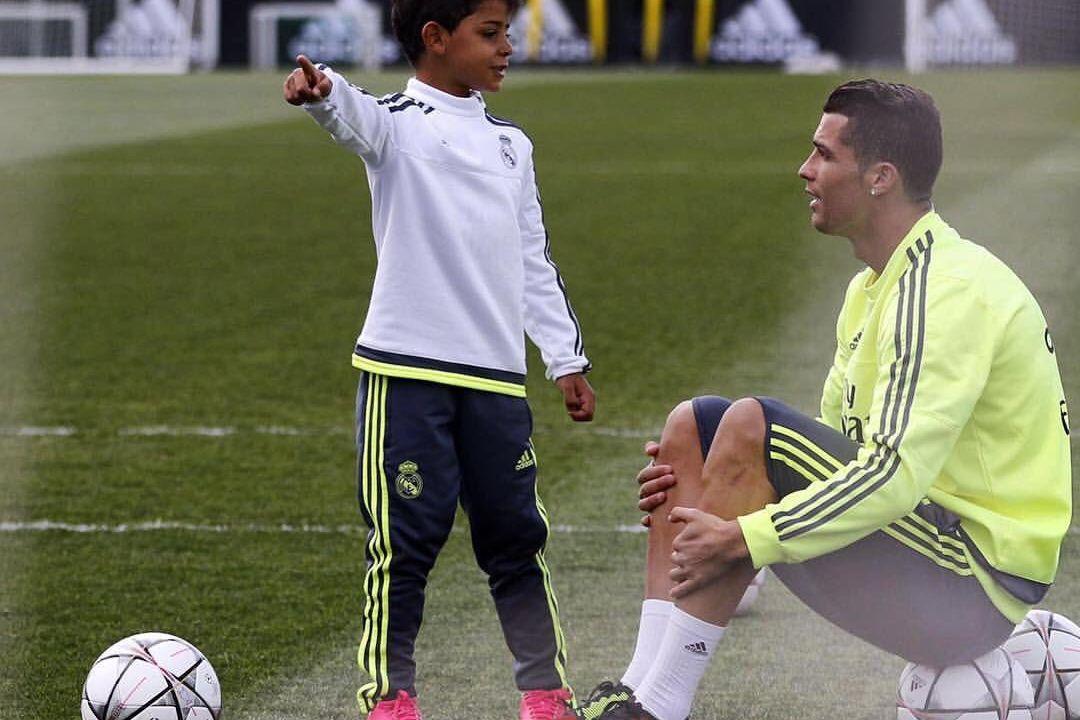 Cristiano Jr Cristiano Ronaldo video golazo redes sociales Real Madrid