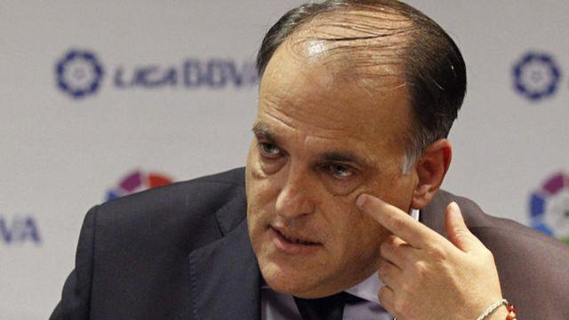 Insultos, A España, Javier Tebas, Cierre Camp Nou, Estadio Barcelona, Independencia Cataluña, Manifestaciones en estadio, cerrar el inmueble
