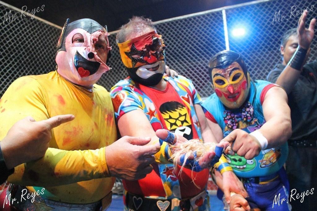 CMLL Trío Fantasía Noche de Leyendas Arena México