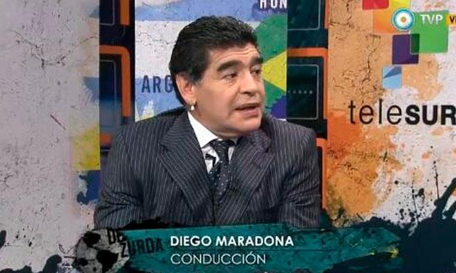 Diego Maradona Programa Televisión Rusia 2018