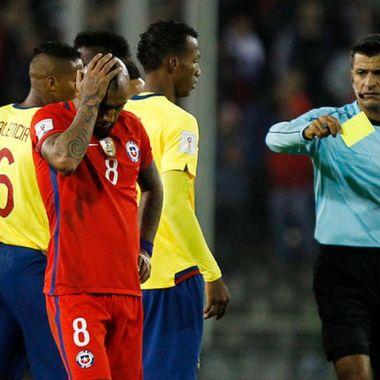 Conmebol expulsión temporal Tarjeta Amarilla Sudamericano Sub-15