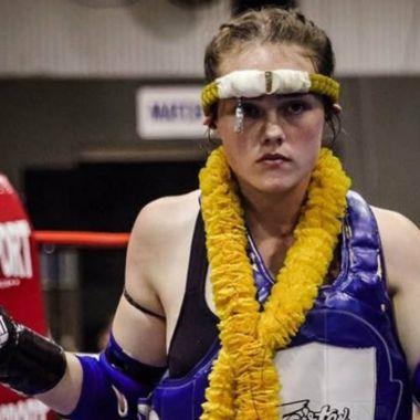Muay Thai corte de peso muerte Jessica Lindsay Australia MMA