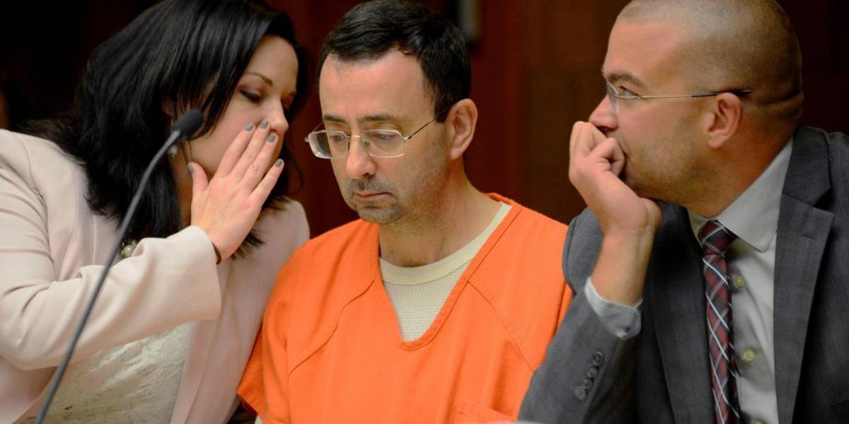 Larry Nassar abuso sexual gimnasia Maroney Gabby Douglas Aly Raisman