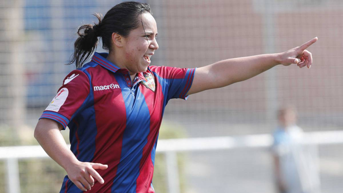 Charlyn Corral, anota, mejor gol, Liga españa, Liga Iberdrola, votos, 4500, mexicana, Levante, Femenil