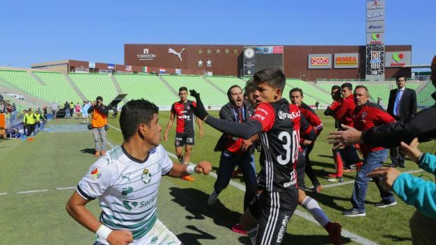 Final Sub-20 Atlas Santos Pelea Apertura 2017
