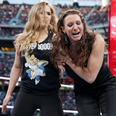 Ronda Rousey WWE UFC Royal Rumble Charlotte Flair